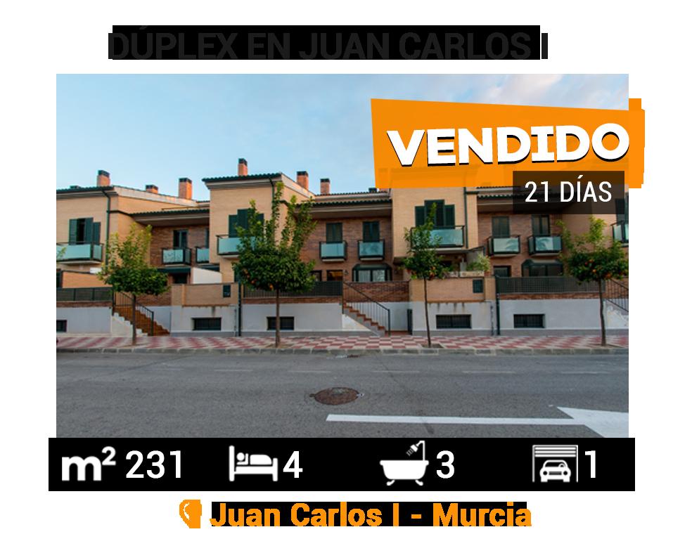 Dúplex en Juan Carlos I vendido