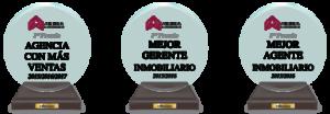 Agencia inmobiliaria en Murcia reconocida con premios mayor número de ventas