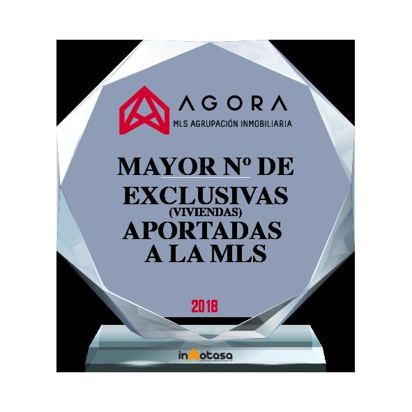 PREMIO INMTASA AGENCIA CON MAYOR NUMERO DE EXCLUSIVAS APORTADAS A LA MLS