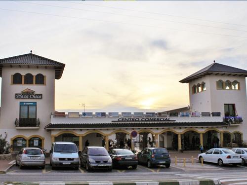 Vista del Centro comercial La Alcayna.