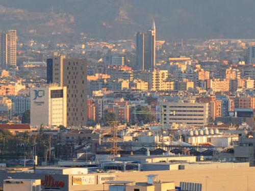 Vista de Murcia capital.