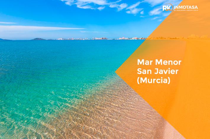 Playa del Mar Menor, San Javier (Murcia).