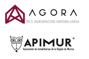 MLS Agora y MLS Apimur Murcia logotipos