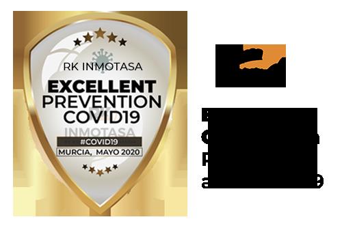 certificado inmotasa prevención coronavirus