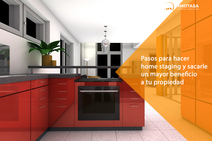 Home staging de una vivienda.